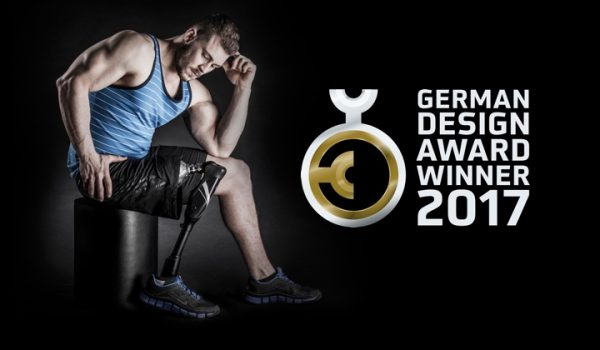 German Design Award for Endolite Linx limb system